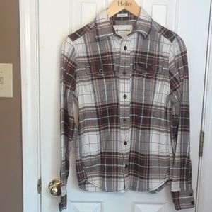NWOT XL 16 BOYS ABERCROMBIE LONG SLEEVED Flannel